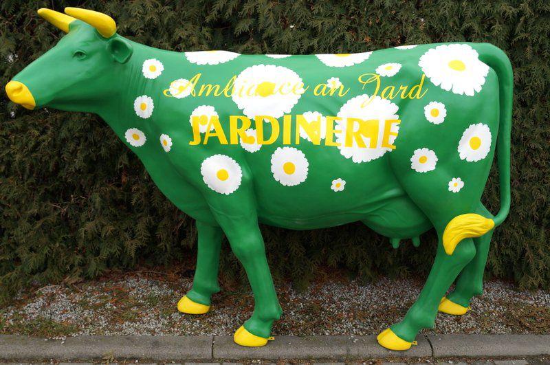 Vache logo personnalisé
