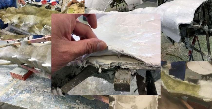 Processus de fabrication d'une sculpture en résine